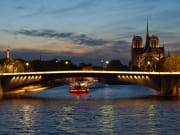 Dinner cruise, Paris, Sein River, France