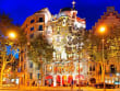 spain, barcelona, night, casa batllo, gaudi