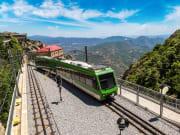 Spain_Montserrat_Funicular Train