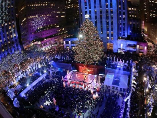 Lighting Of Rockefeller Christmas Tree.Rockefeller Center Holiday Tree Lighting Vip Experience With