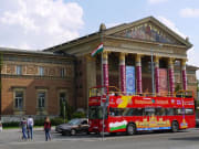 hall of art budapest hungary hop on hop off bus