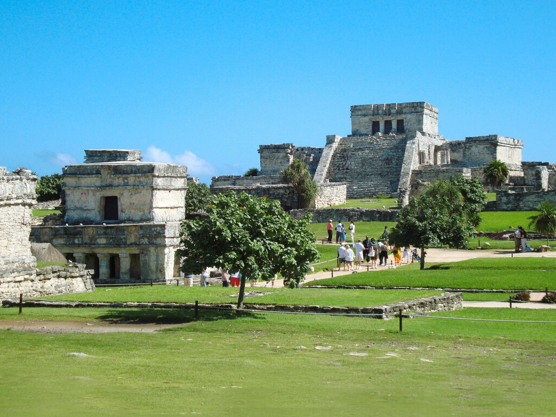 Tulum Ruins Full Day Sightseeing Tour with Tankah Park Visit Cancun