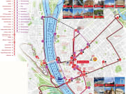 City Sightseeing Route Map