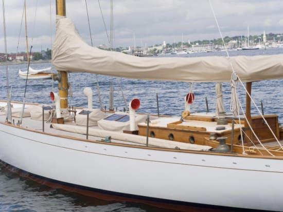 Boat at Newport Harbor