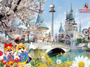 Lotte World Korea Day Pass Spring Cherry Blossoms
