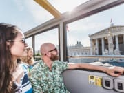 Vienna Sightseeing Bus tour, hop on hop off tour