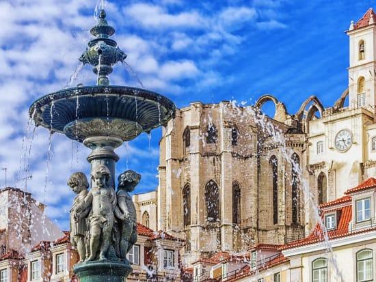 Portugal, Lisbon, Rossio Square
