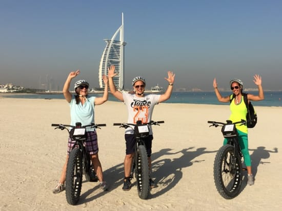 Dubai Cycle Tours Beach Fat Bike (1)
