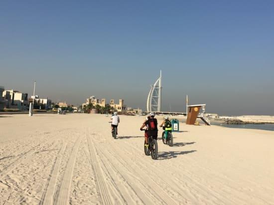 Dubai Cycle Tours Beach Fat Bike (9)