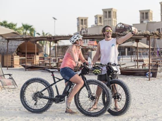 Sunset Dubai Beach E-Fat Bike Tour (9)