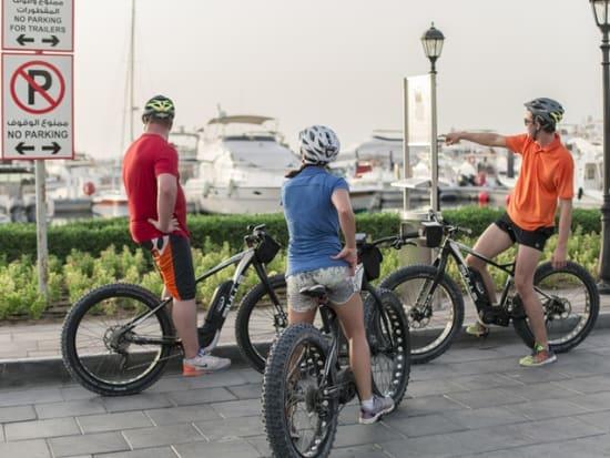 Sunset Dubai Beach E-Fat Bike Tour (10)