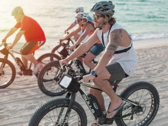 Sunset Dubai Beach E-Fat Bike Tour (7)