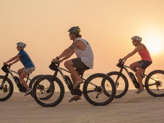 Sunset Dubai Beach E-Fat Bike Tour (15)