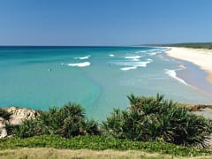 Queensland Stradbroke Main Beach