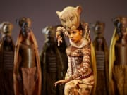Daniela Pobega (Nala) in Disney's The Lion King. Shadowlands image. Photo Brinkhoff and Mogenburg