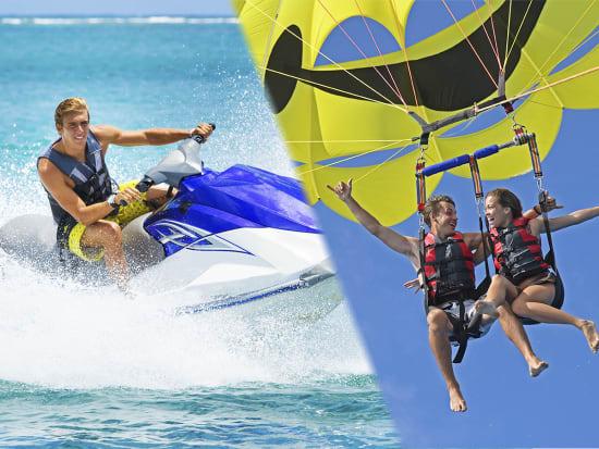 Hawaii_Oahu_H2O Sports_Jet Ski and Parasailing
