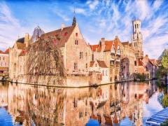 Belgium-Bruges-house