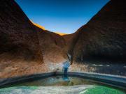 Australia, Uluru, Mutitjulu Waterhole