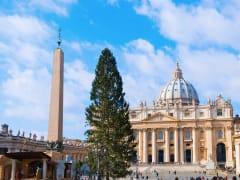 rome christmas walking tour