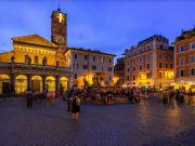 Italy, Santa Maria in Trastevere