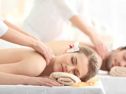 Massage & spa treatments on other islands.