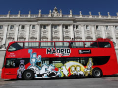 Royal Palace of Madrid, hop-on hop-off bus