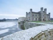 leeds castle, christmas, winter
