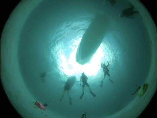 水中瞑想360度カメラ2