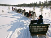 Santa Claus, Lapland, Reindeer