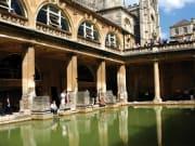 Roman Baths, bath, england, uk