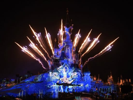 Elsa's Castle Disneyland Paris