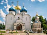 Russia_Sergius Lavra_AssumptionCathedral_inTrinityshutterstock_368266568