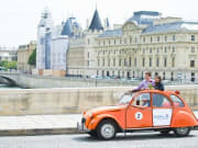 Paris, citroen 2cv