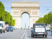 Arc de Triomphe, Paris, citroen 2cv
