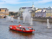 moscow boat cruise sightseeing tour