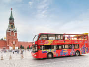 Red Square Moscow Russia hop on hop off tour