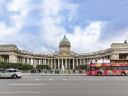 Kazan Cathedral st petersburg russia sightseeing