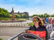 UK, Glasgow, Sightseeing tour, tourist, bus
