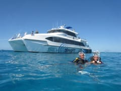 Great Barrier Reef Snorkeling cruise ship