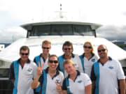Silverswift cruise ship friendly staff