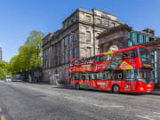 UK, Edinburgh, Hop on Hop off, double decker bus