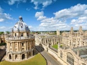 Stunning English architecture of Oxford