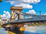 The Szechenyi Chain Bridge
