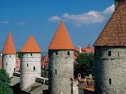 Estonia, Tallinn, Vanalinn, Medieval buildings