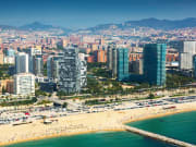 Shutterstock Barcelona from the sky 4