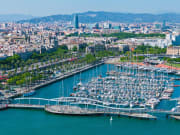 Shutterstock Barcelona from the sky