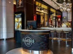Hard Rock Cafe Barcelona, Entrance