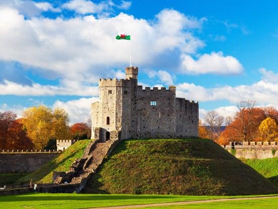 UK, Cardiff Castle