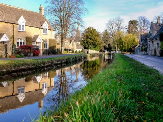 UK, England, Cotswolds, Lower Slaughter