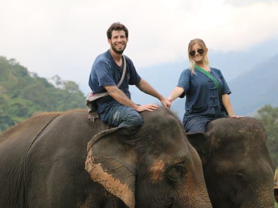 象使い体験1日ツアー01